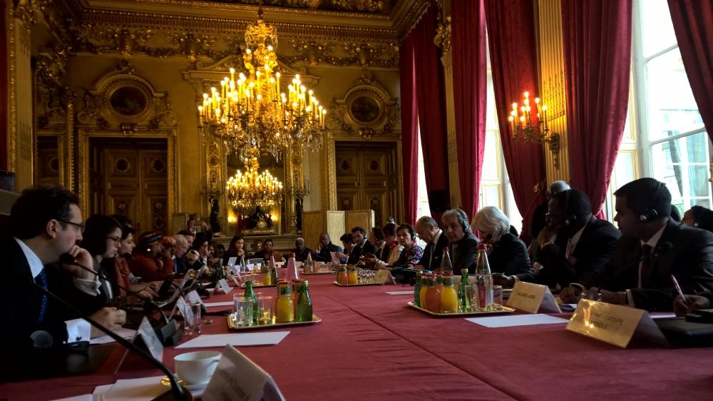 Paris pre-COP 8 November 2015